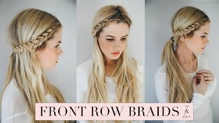 One of Amber Fillerup's most viewed videos: TUTORIAL | Front Row Braid