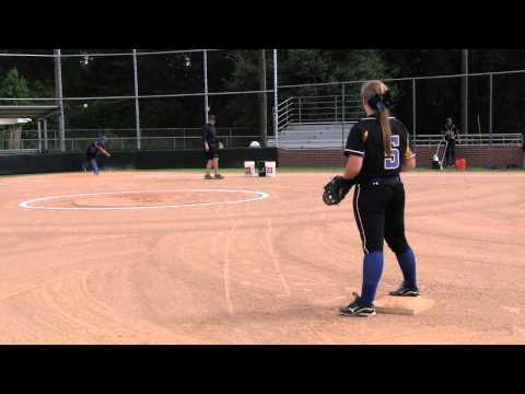 Katelynn McLin College Softball Recruiting Video HD
