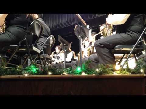R Nelson Snider High School Concert Band - Christmas Holiday Concert - 12.17.2012 video 1 of 3
