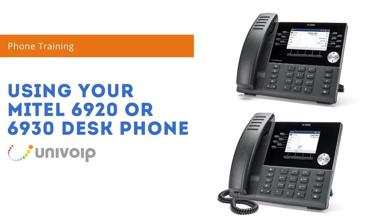 Getting Started: Mitel 6920 and 6930 Desk Phones