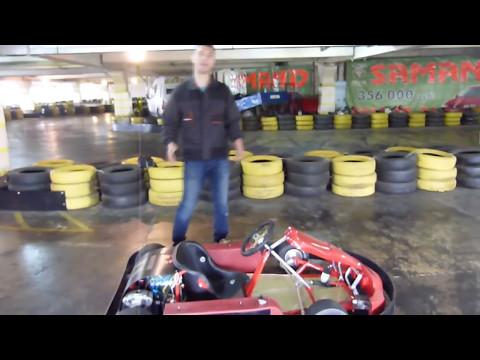 видео: Электрокарт e-kart, 5 кВт (картинг с электротягой). Обзор и тест драйв