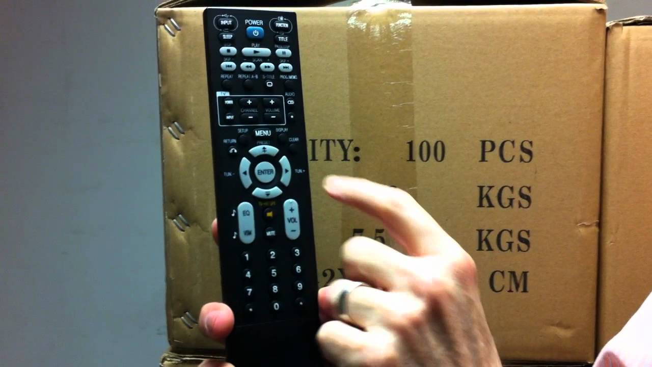 The Original Lg Akb41681201 Home Theater Remote Control Electronicadventure