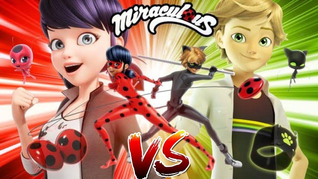 Meninas VS Meninos #1 - Jogo Oficial Miraculous Ladybug e Gato Noir em HD