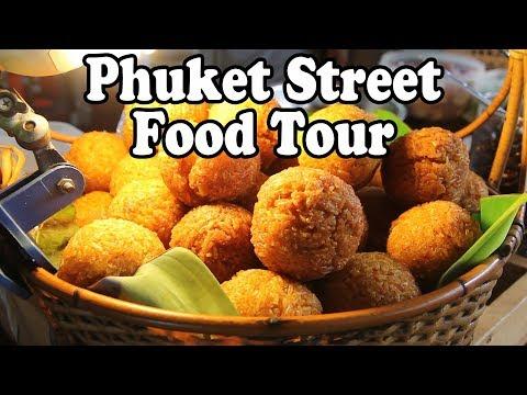 Phuket Street Food 2016: Thai Street Food in Phuket Thailand. Phuket Market Street Food Guide