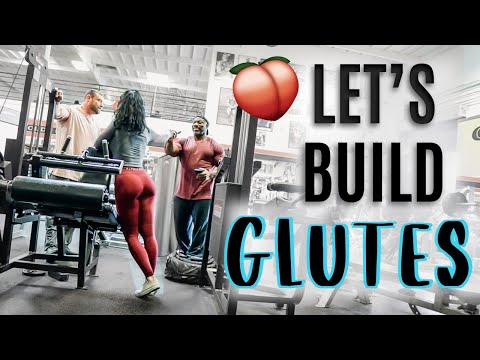 IFBB Bikini Pro Glutes & Hamstrings At Golds Gym Venice   The Mecca Of Bodybuilding