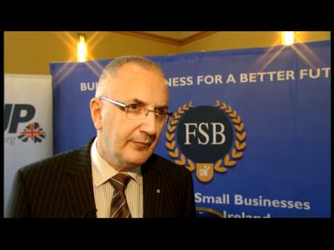Danny Kennedy MLA  discusses the economy with the Federation of Small Businesses