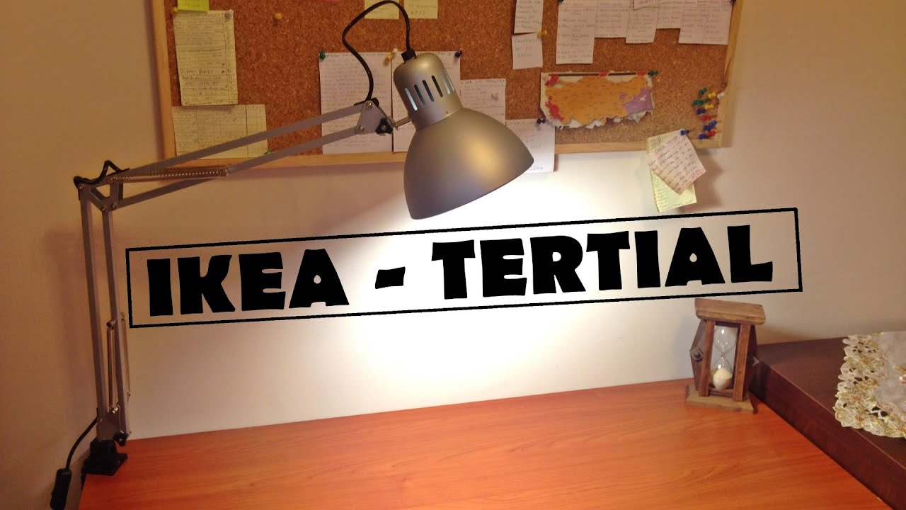 IKEA TERTIAL Lamba incelemesi / Lamp Review