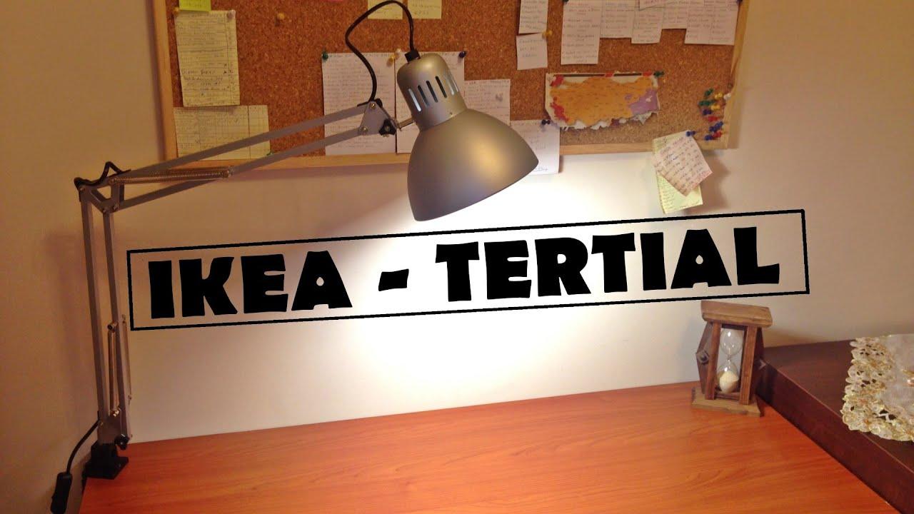 IKEA TERTIAL Lamba incelemesi / Lamp Review - YouTube