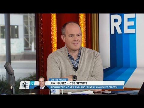 CBS Sports Jim Nantz Calls The RES - 1/16/15
