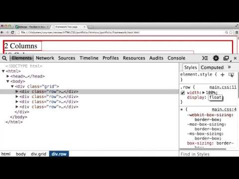 Intro To HTML And CSS - Framework Version 02