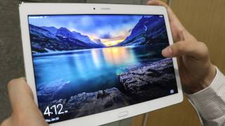 Huawei MediaPad M2 Hands on