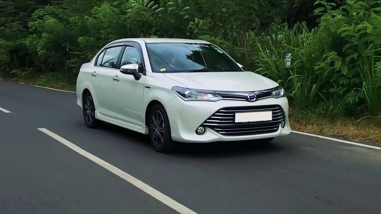 Toyota Axio WXB, Hybrid, G, X Review (Sinhala) from ElaKiri com