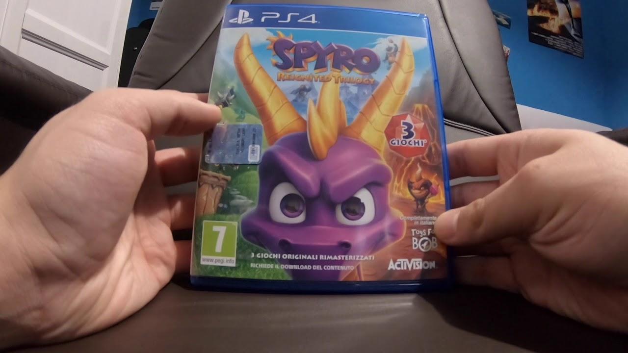 Spyro Reignited Trilogy - UNBOXING ITA