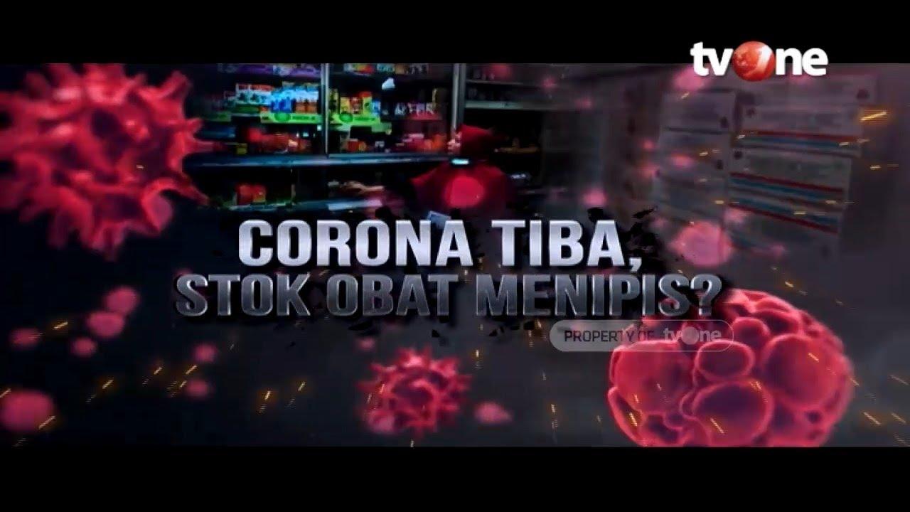 Corona Tiba, Stok Obat Menipis?   Laporan Utama tvOne (11/3/2020)