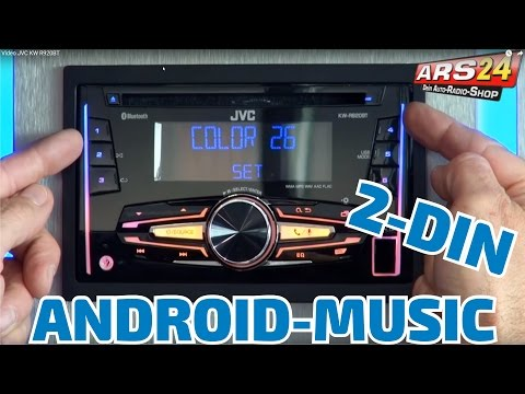 JVC KW R 920 BT | REVIEW | ARS24 |  Doppel-DIN Autoradio mit Bluetooth und Android Music