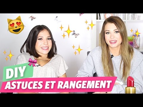 diy astuces et rangement maquillage youtube. Black Bedroom Furniture Sets. Home Design Ideas