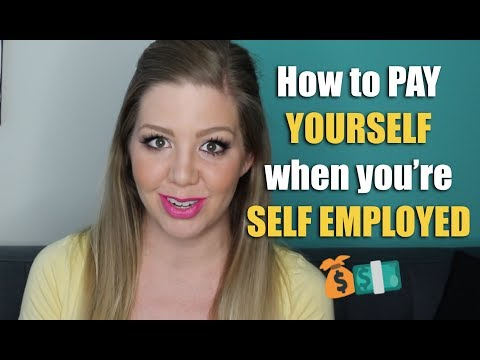 How to Pay Yourself When You're Self Employed