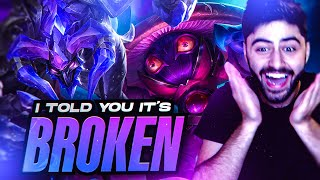 Yassuo | I *TOLD* YOU GUYS!!! THIS LANE IS BROKEN! [ADC to Masters Part 8] Ft. Alicopter