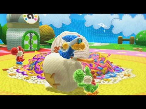 Yoshi's Woolly World 100% Walkthrough Part 1 - World 1