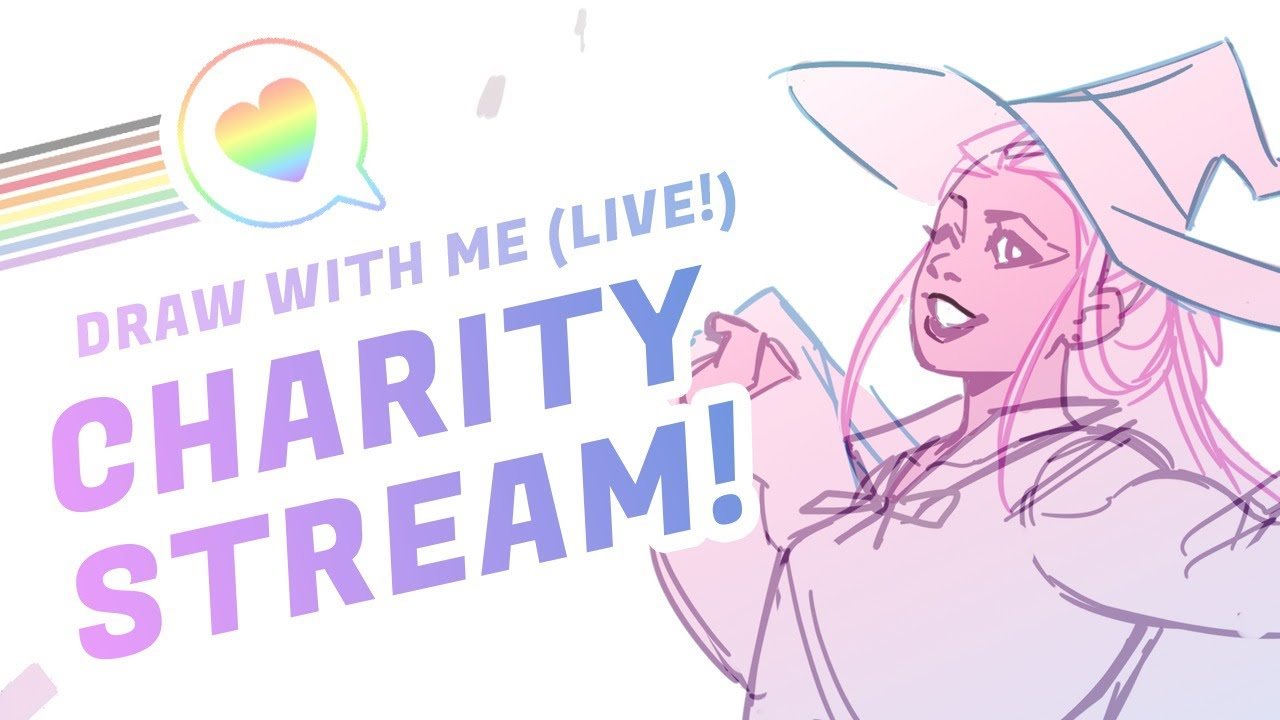 Pride Month Charity Livestream!