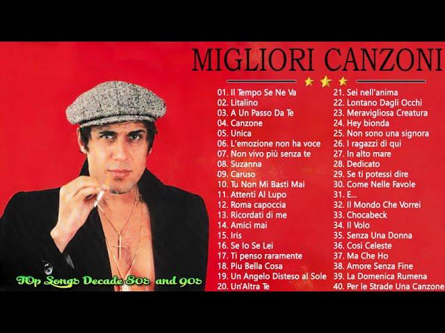 Le 40 migliori canzoni italiane