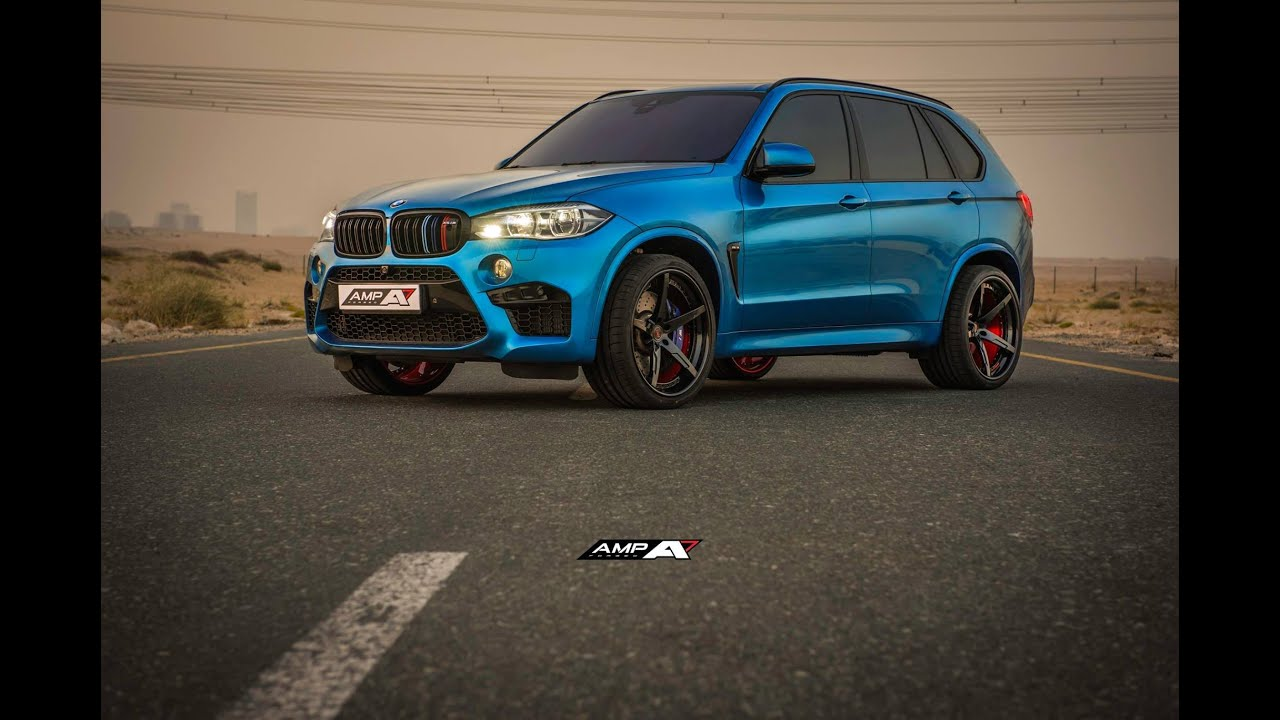 Bmw X5m On 22 Quot Amp 5 Forged Wheels Youtube