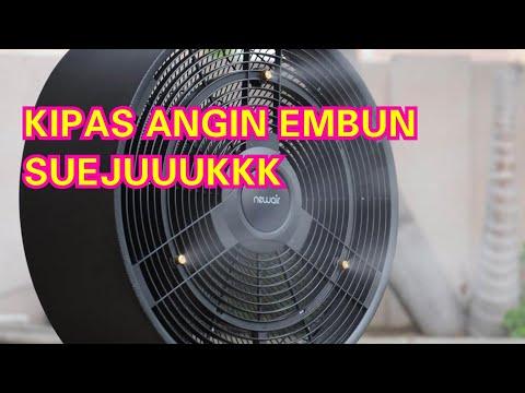 COCOK UNTUK CUACA PANAS!!! MEMBUAT KIPAS ANGIN EMBUN SENDIRI - KIPAS ANGIN UAP - MIST FAN