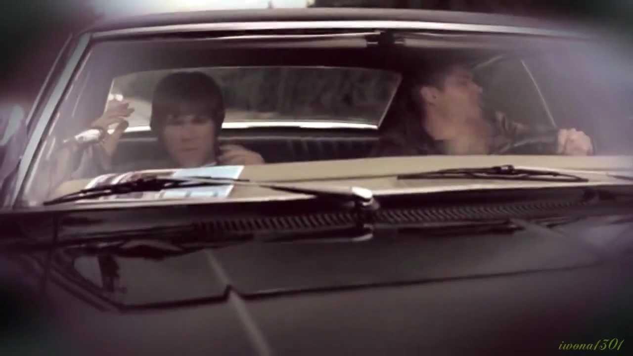 Supernatural Sam Dean Amp Impala Drive The Cars Youtube