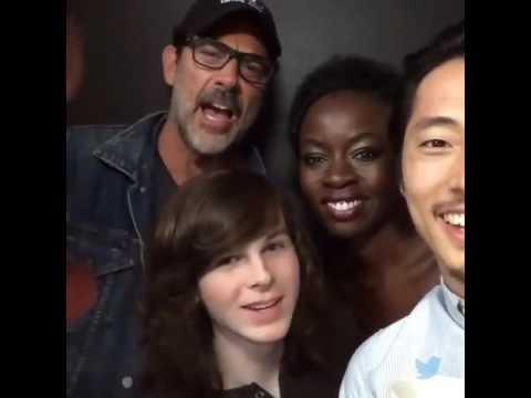 Daryl, Michonne, Negan, Glenn, Carl