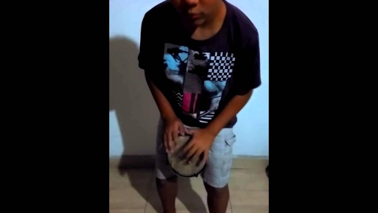 Mini Timba Tambor Pequeno Pele Couro Musiconet