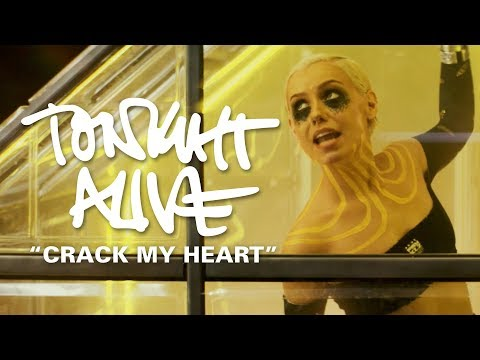 Tonight Alive - Crack My Heart (Official Music Video)