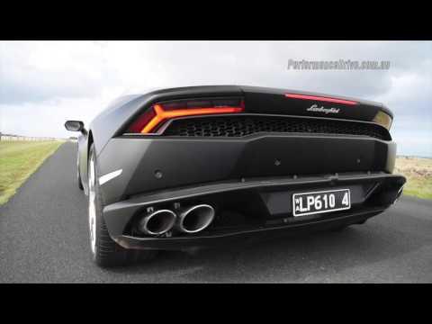 2015 Lamborghini Huracan 0-100km/h, 0-200km/h & engine sound