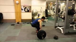 My 1st 150kg deadlift