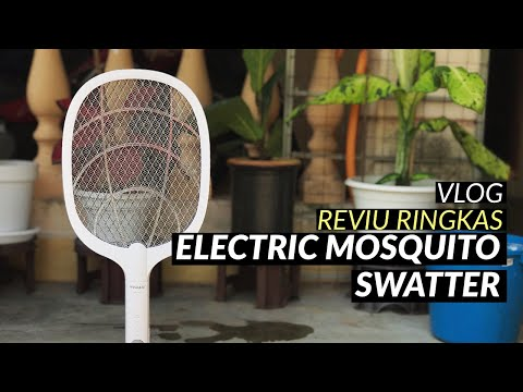 Vlog Reviu Electric Mosquito Swatter