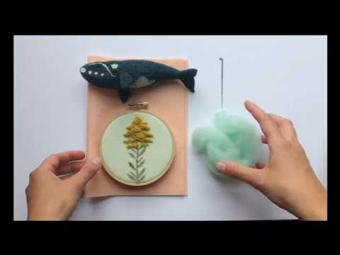 What is Needle Felting? Grey Fox Felting Video Tutorial - Part 1
