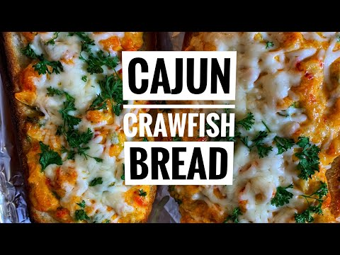 How To Make Cajun Crawfish Bread | Cooking With Cuzzo