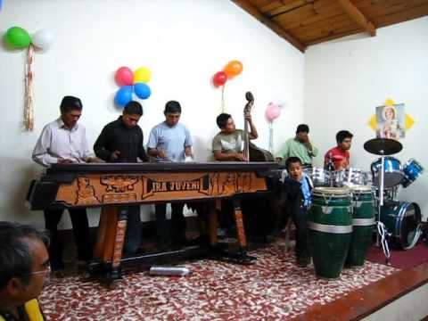 Marimba players in Guatemala