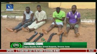 Police Arrest Criminal Suspects In Ogun And Bayelsa, Recover Arms