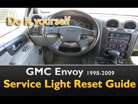 Gmc Envoy Oil Life Service Light Reset Youtube