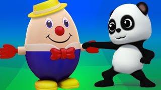 Шалтай-Болтай Сб на стене   детские рифмы для детей   песня в россии   Humpty Dumpty Song