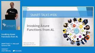 SMART TALKS 111: Invoking Azure Functions from AL
