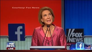 Carly Fiorina: Donald Trump Is Frontrunner, Good For Him