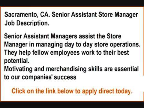 Retail Store Management Jobs Employment in Sacramento, CA
