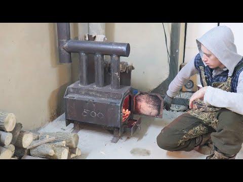 Печка буржуйка своими руками