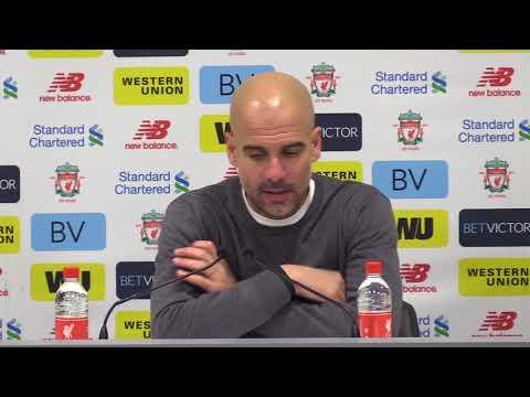 Guardiola heaps praise on Liverpool following Anfield defeat