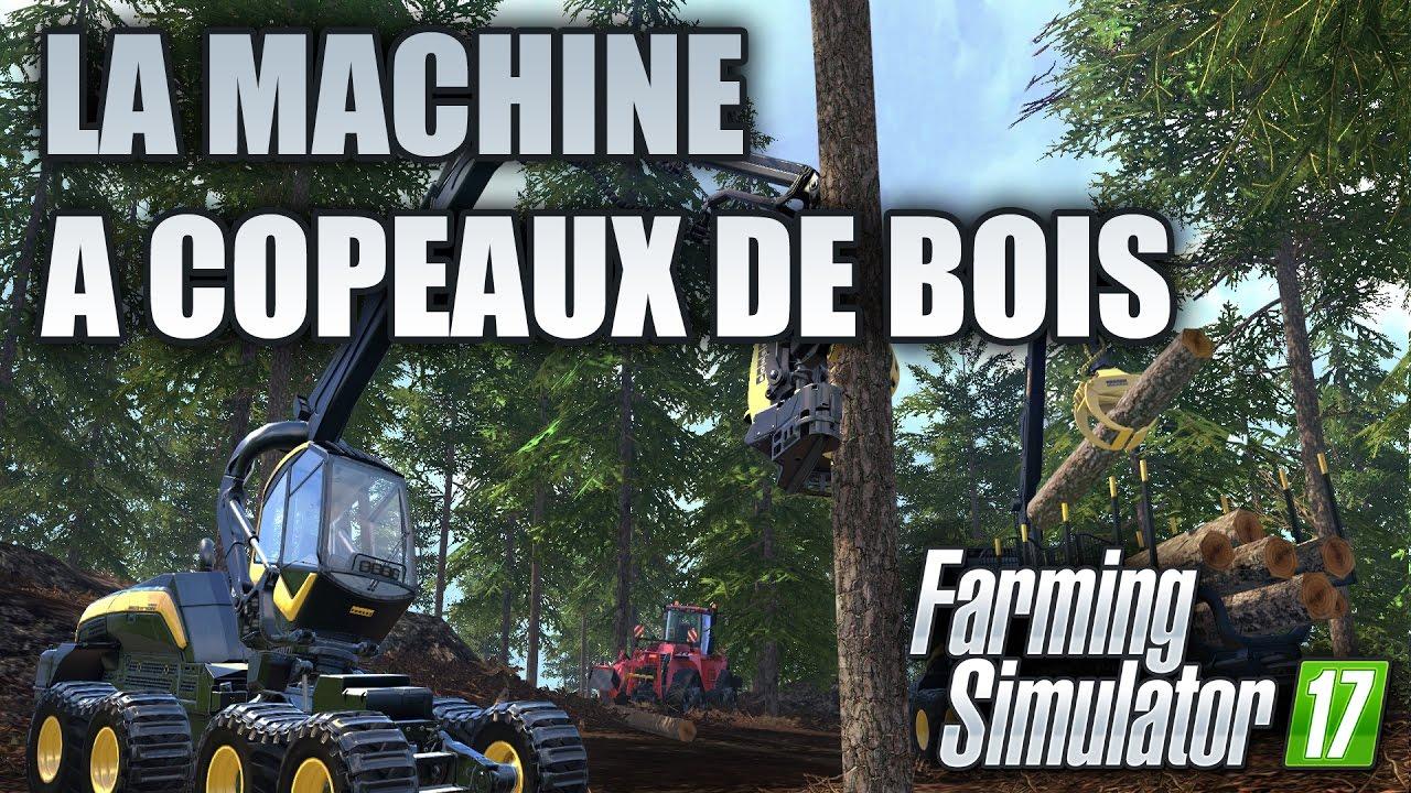 farming simulator 17 la machine copeaux de bois gameplay frhd - Copeaux De Bois Colors