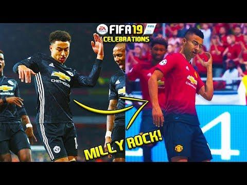 FIFA 19: NEW CELEBRATIONS TUTORIAL! MILLY ROCK, CROCODILE, DOUBLE Siii!