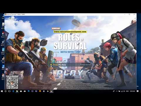 🙀 New Log Added 🙀 Rules Of Survival Fixed Lag Finally (PC Version No need Nvidia card)