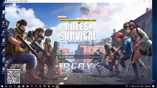 Rules Of Survival Fixed Lag Finally (PC Version No need Nvidia card)