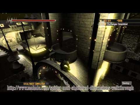 Spider-Man: Shattered Dimensions Walkthrough - Level 10 Goblin - Part 1/3